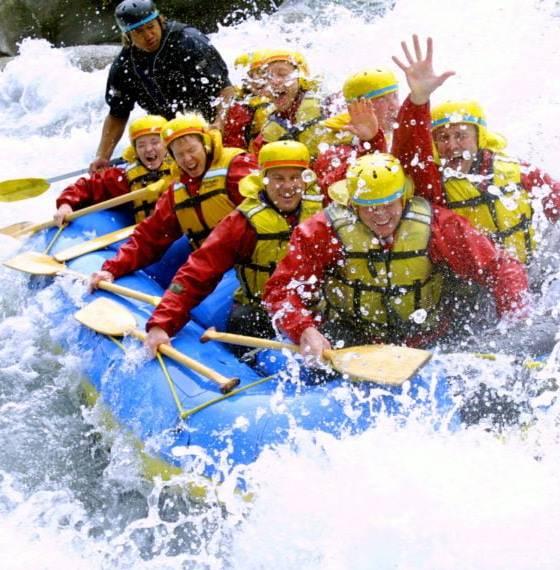 Kawerau water rafting